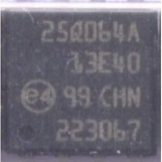 MICRON 25Q064A BIOS IC