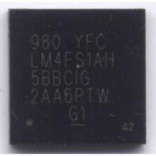 TI SMC 980 YFC LM4FS1AH BGA IC